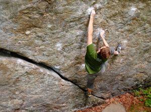 Josh Climbing