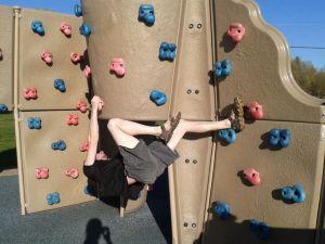 josh on playground