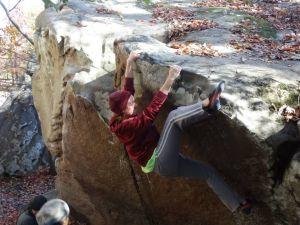 Chattanooga- Anna climbing