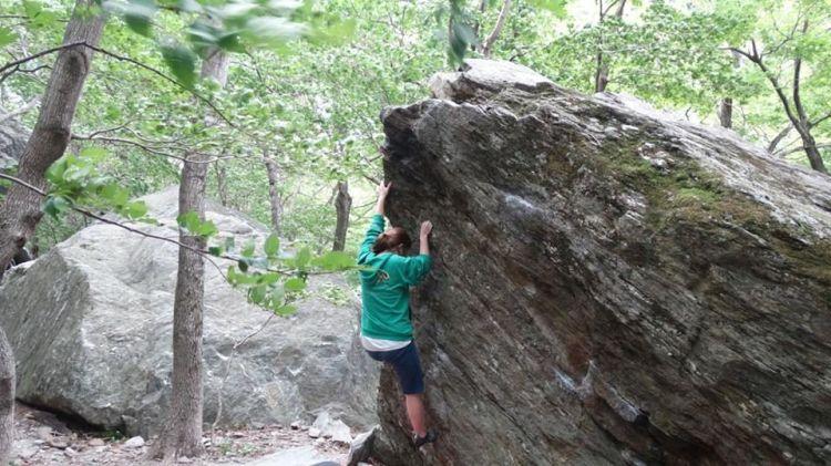 me climbing